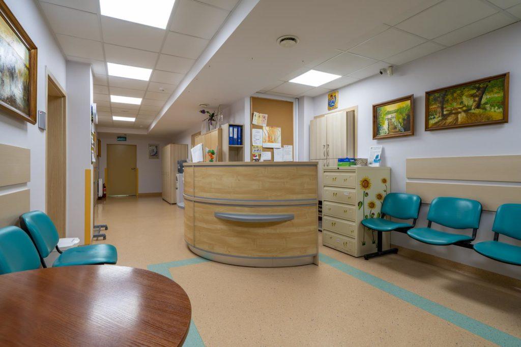 Ośrodek Medyczny SAMARYTANIN hol