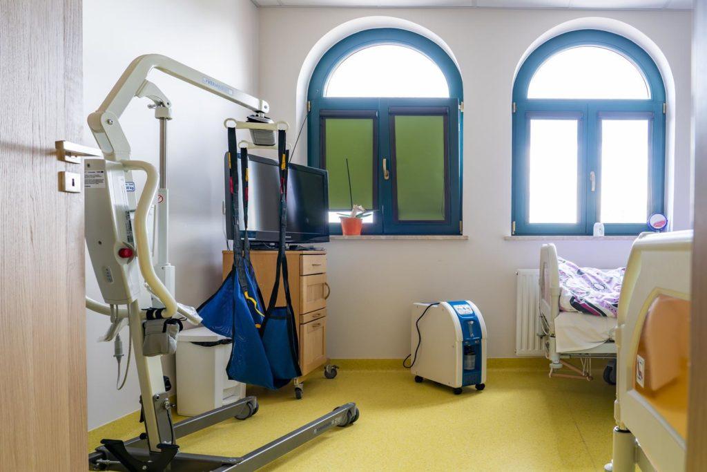 Ośrodek Medyczny SAMARYTANIN pokoje
